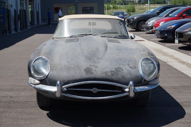 Distressed Beauty: 1965 Jaguar XK-E Convertible