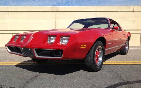 Fire Engine Firebird: 1981 Pontiac Firebird