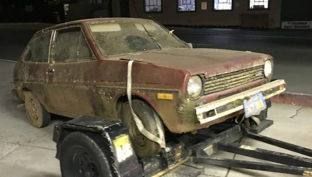 Found in the Mountains: 1976 Ford Fiesta