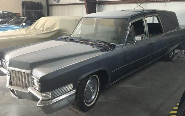Halloween Hauler: 1970 Cadillac Fleetwood Hearse