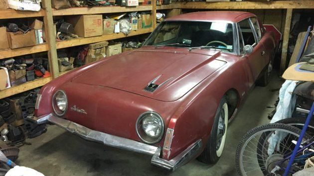 Stored 43 Years: 1964 Studebaker Avanti
