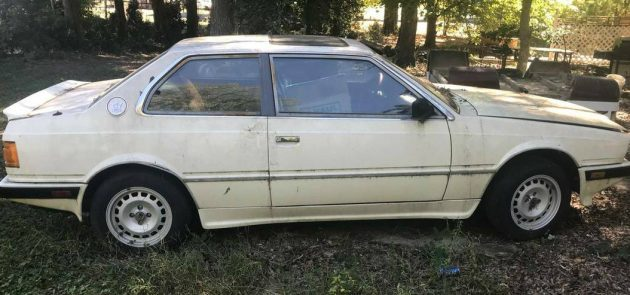 Hates to Scrap It: 1984 Maserati Biturbo