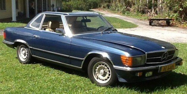 Manual Trans + Gray Market: 1981 Mercedes 280SL
