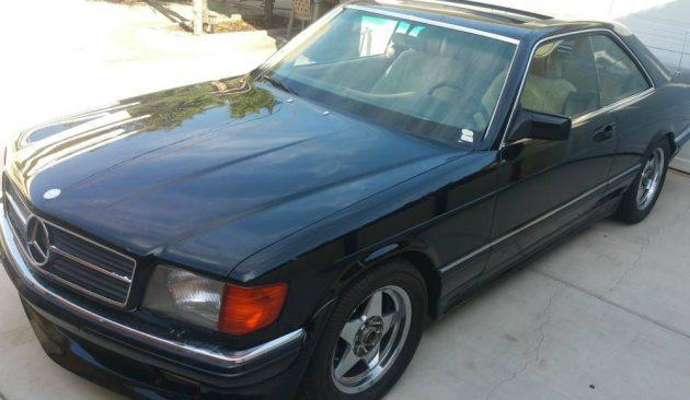 Locked in Uncle's Garage: 1984 Mercedes 500SEC