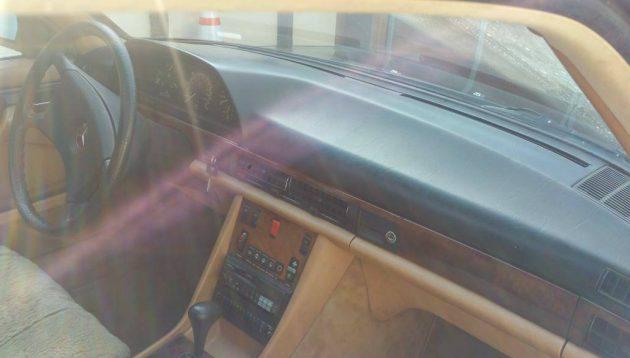 Locked in Uncle\'s Garage: 1984 Mercedes 500SEC