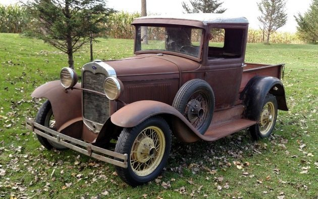 Basic Hauler: 1930 Ford Model A Pickup