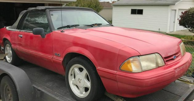 Droptop 5.0: Barn Find 1993 Mustang GT