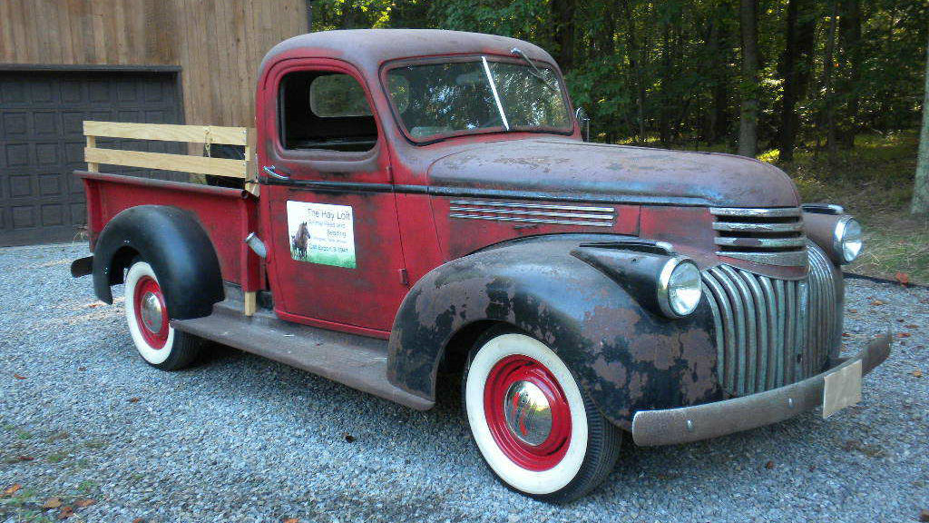 Oldie But Goodie: 1941 Chevrolet Pickup