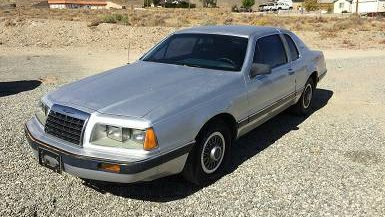 Well-Maintained: 1986 Ford Thunderbird