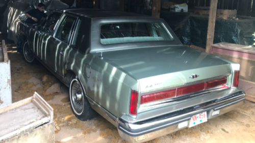 Still In The Barn: 1984 Town Car With 15,279 Miles