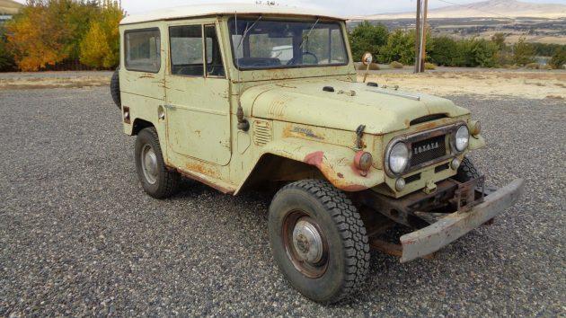 Almost Original: 1967 Toyota Land Cruiser