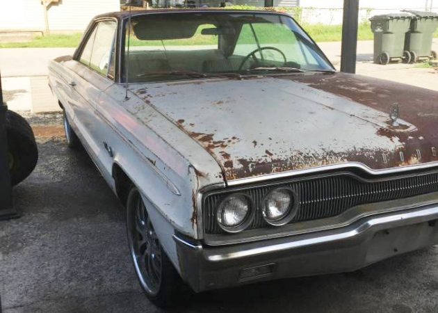 Only Surface Rust: 1966 Dodge Polara 500