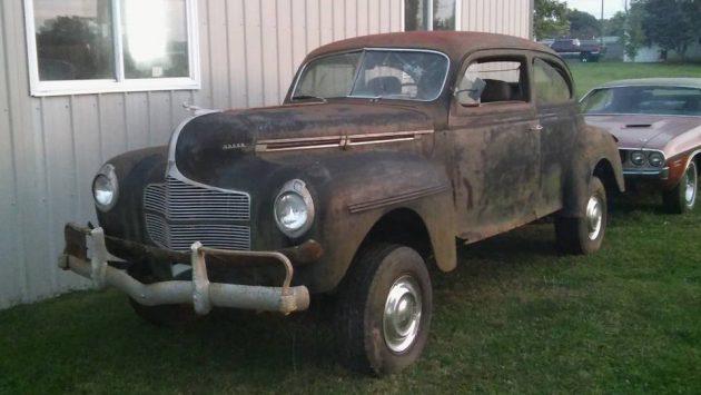 Keeping it in the family 1940 dodge sedan 4x4 for 1940 dodge 4 door sedan