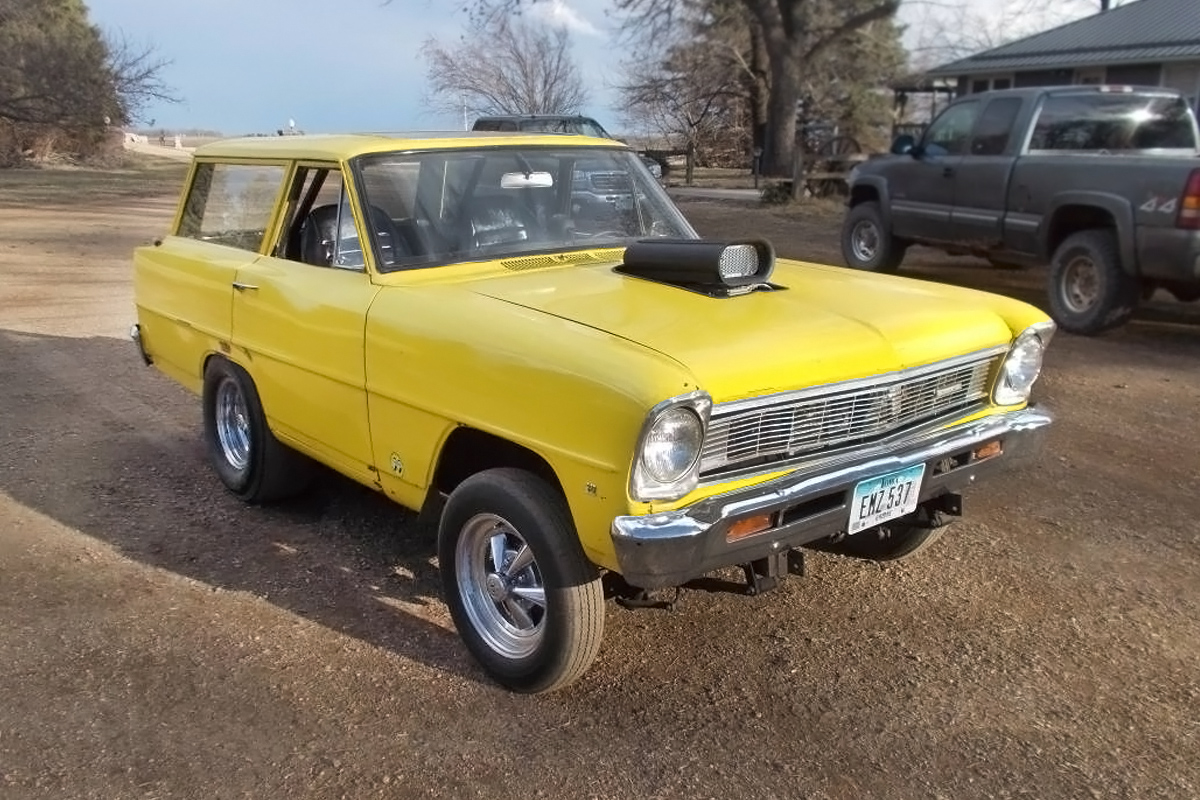 Short Work 1966 Chevrolet Gasser Wagon