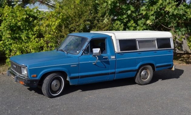 Blue Coal Rollin': 1982 Mazda B2200 Pickup
