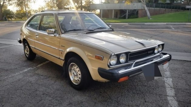 Slick Sliding Ragtop: 1979 Honda Accord