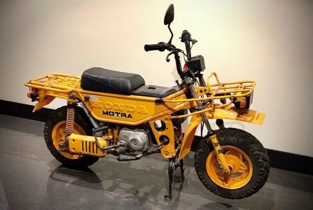 Motorcycle Truck: 1982 Honda CT50 Motra