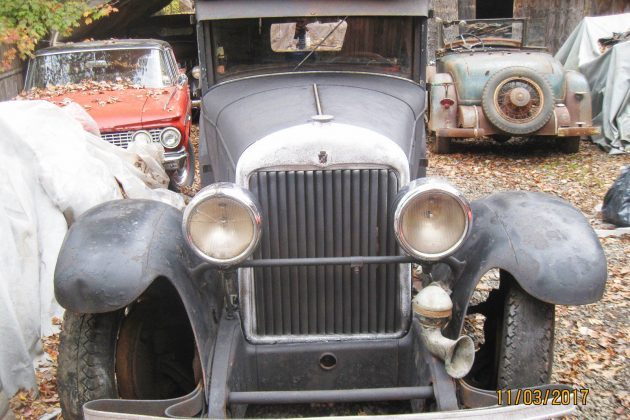 Saved From The Crusher: 1926 314 Cadillac Coupe