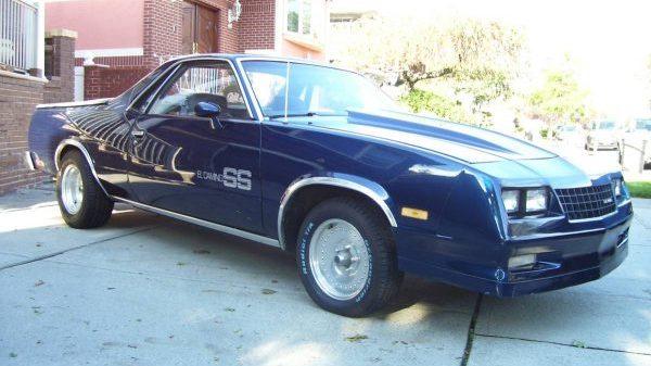 Choo Choo SS: 1984 Chevrolet El Camino