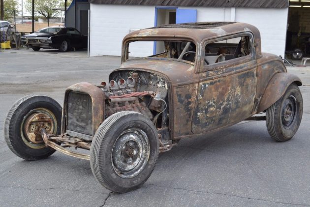 Vintage Hot Rod 1932 Ford Coupe