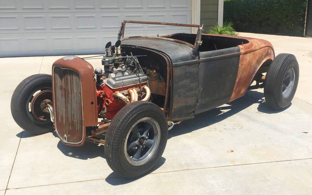 California Cruiser: 1932 Ford Roadster