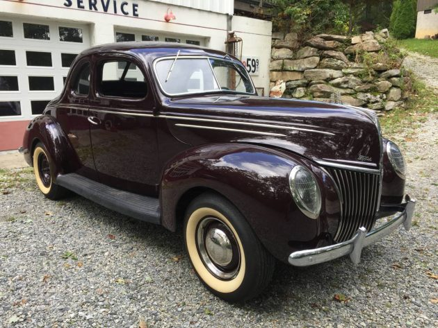 Standing Still On Thunder Road: 1939 Ford Coupe