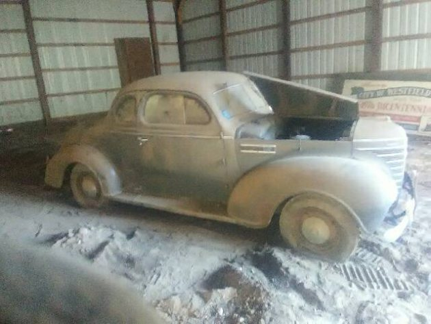 Parked Since '64! Dusty 1939 Plymouth Business Coupe