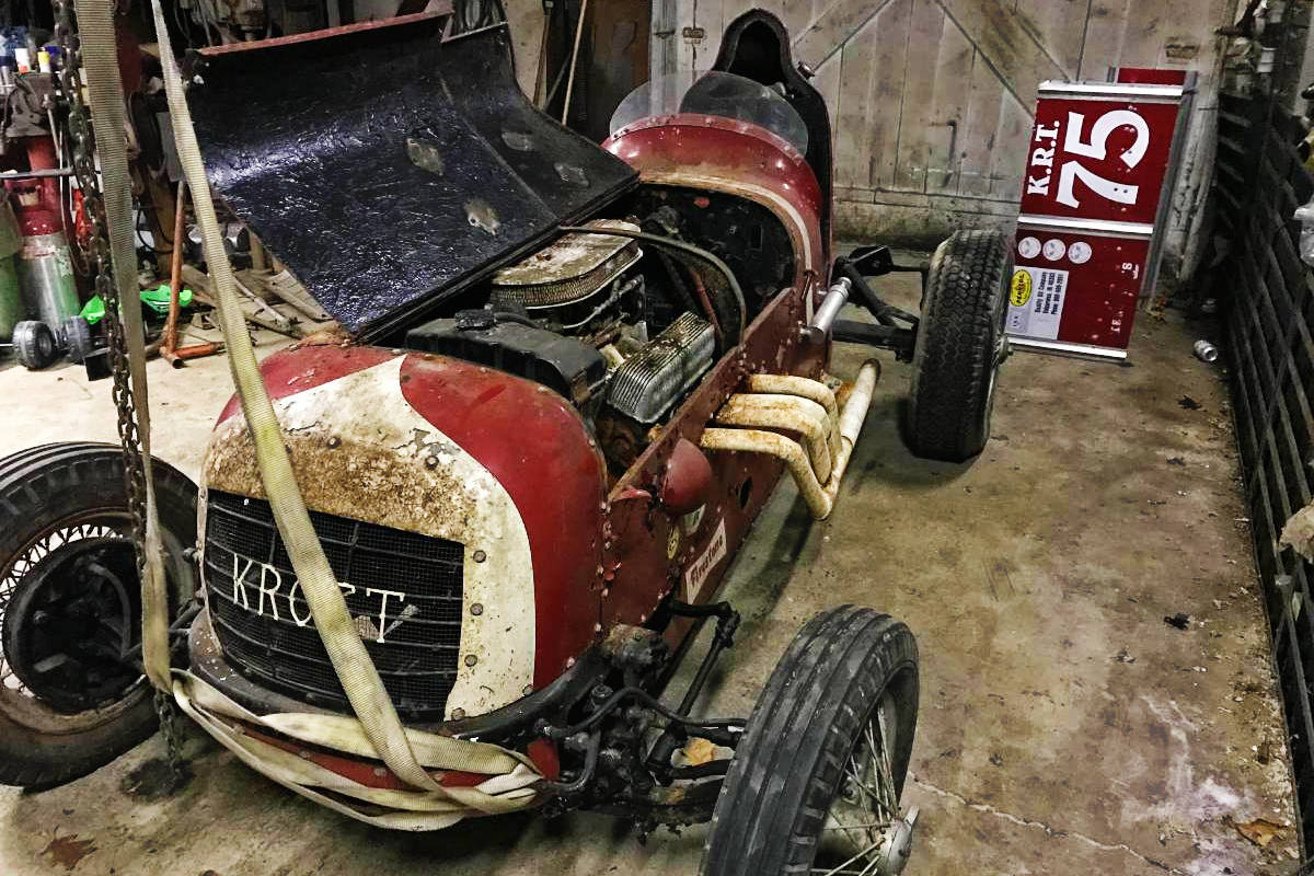 Car Maintenance List >> Hit The Dirt: 1947 Kroft Special Sprint Car