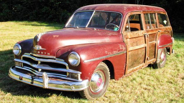 Parked For 48 Years 1950 Plymouth Woodie Wagon