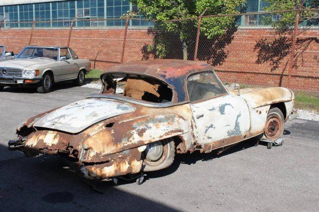 Hagerty Car Value >> 1957 Mercedes-Benz 190SL Barn Find!