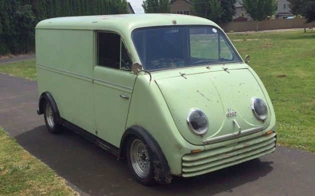 Bug-Eyed Beauty: 1958 DKW Schnellaster Van