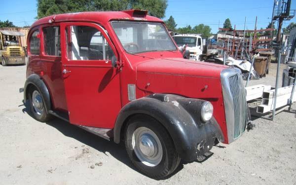 London Taxi Find: 1959 Beardsmore MK7