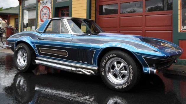 Back To The 70s Custom 1965 Corvette