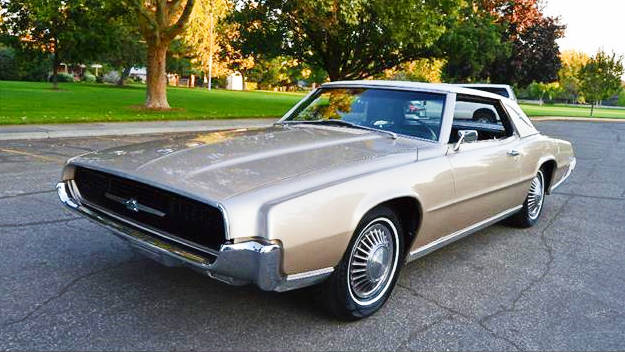 Uncooled Bird: 1967 Ford Thunderbird Landau