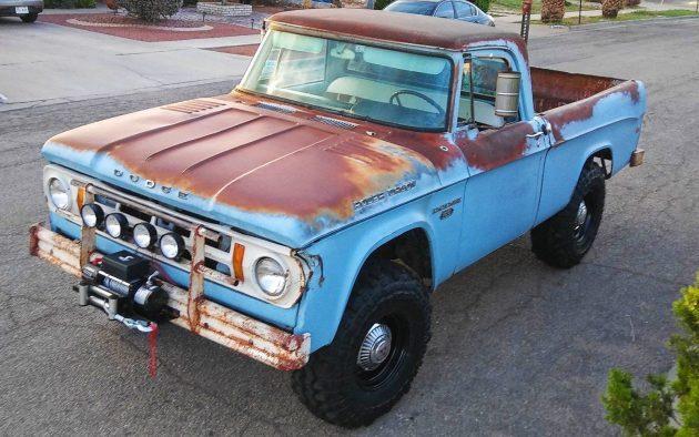 Big Toy Truck: 1968 Dodge Power Wagon