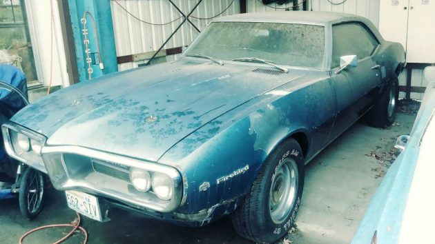 Original Owner 1968 Pontiac Firebird