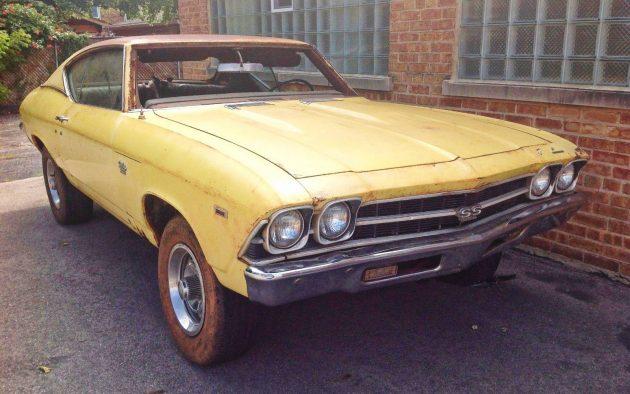 Daytona Yellow Project: 1969 Chevelle SS 396