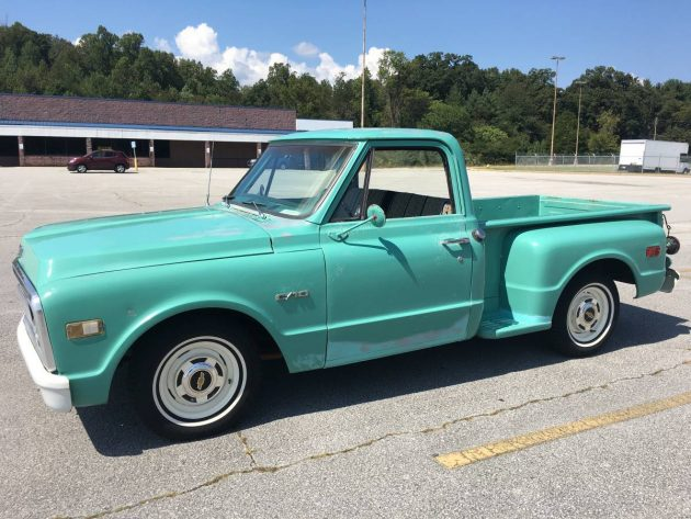 K besides Muscle Truck further Photo 04 in addition 2 also Stepside Seafoam Stunner 1969 Chevrolet C 10. on 1972 chevy c10 for sale craigslist