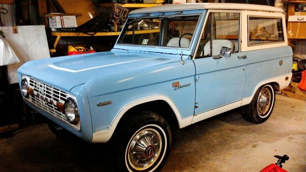 I'll Be Your Huckleberry: 1969 Ford Bronco Sport