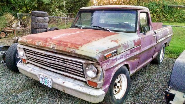 Classy Chassis: 1969 Ford F100 Short Box