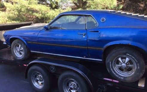 Parked since the '90s! 1969 Ford Mustang Mach I