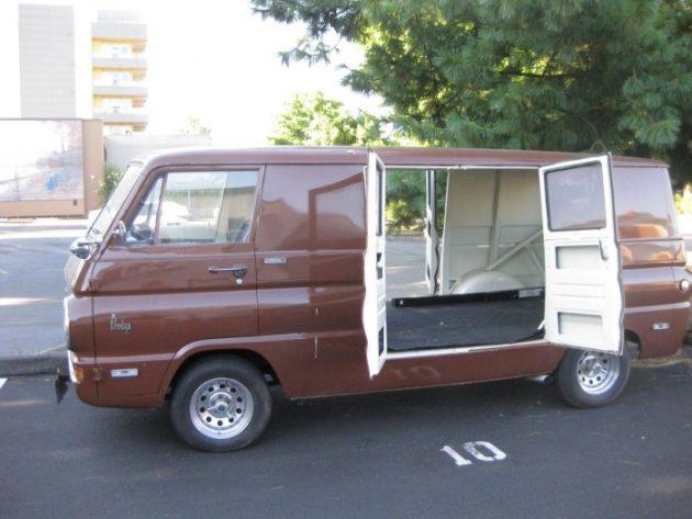 He S An Old Hippie 1967 Ford Econoline 8 Door Van