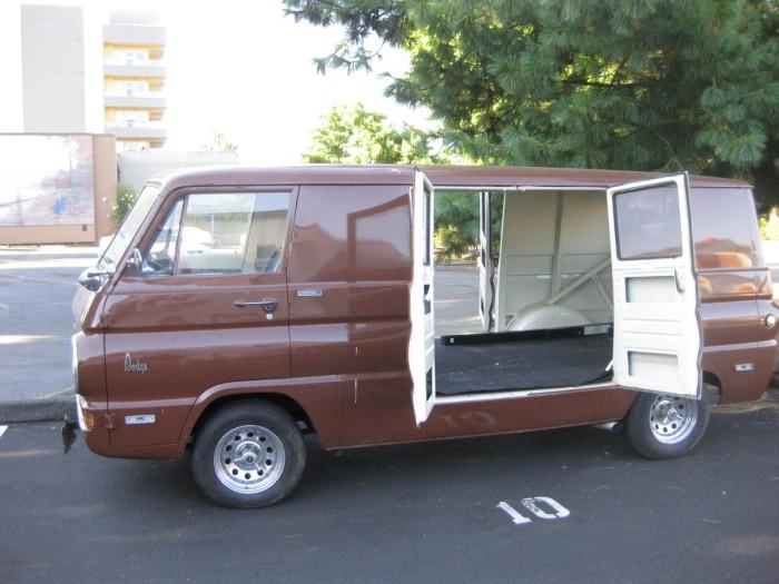 Ford Econoline Van For Sale >> He's An Old Hippie: 1967 Ford Econoline 8 Door Van