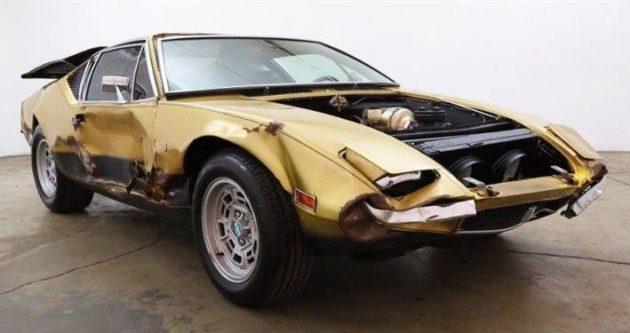 Detomaso Pantera For Sale >> Wrecked Exotic: 1971 DeTomaso Pantera