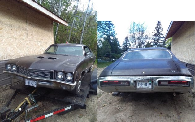 1972 Buick GS 455 Barn Find