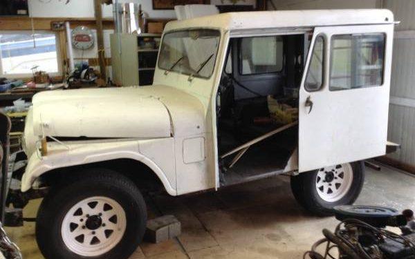 Right Hand Drive: 1974 Postal Jeep DJ5