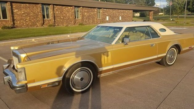 Solid Gold Classic! 1977 Lincoln Continental Mark V