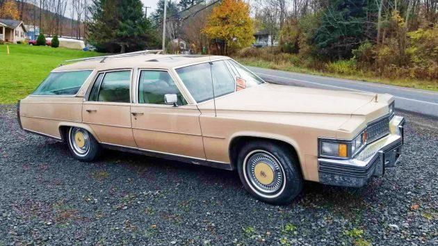 roadside sighting 1978 cadillac wagon. Black Bedroom Furniture Sets. Home Design Ideas