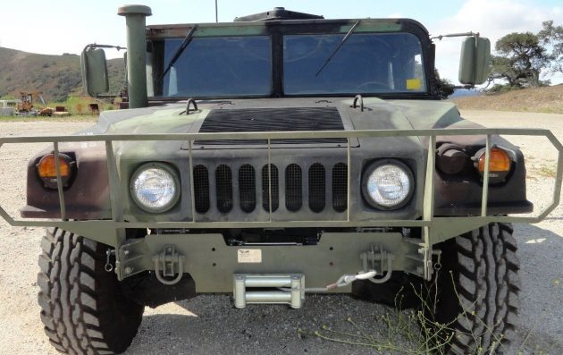 "Ex-Marine 1985 HMMWV ""Humvee"" H1 Slant Back"