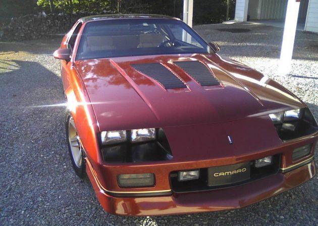 Like A CD At The Bank: 1986 Camaro IROC-Z